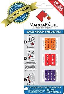 Marca Fácil 60 Etiquetas Vade Mecum Tributário Josiane Minardi, Branco