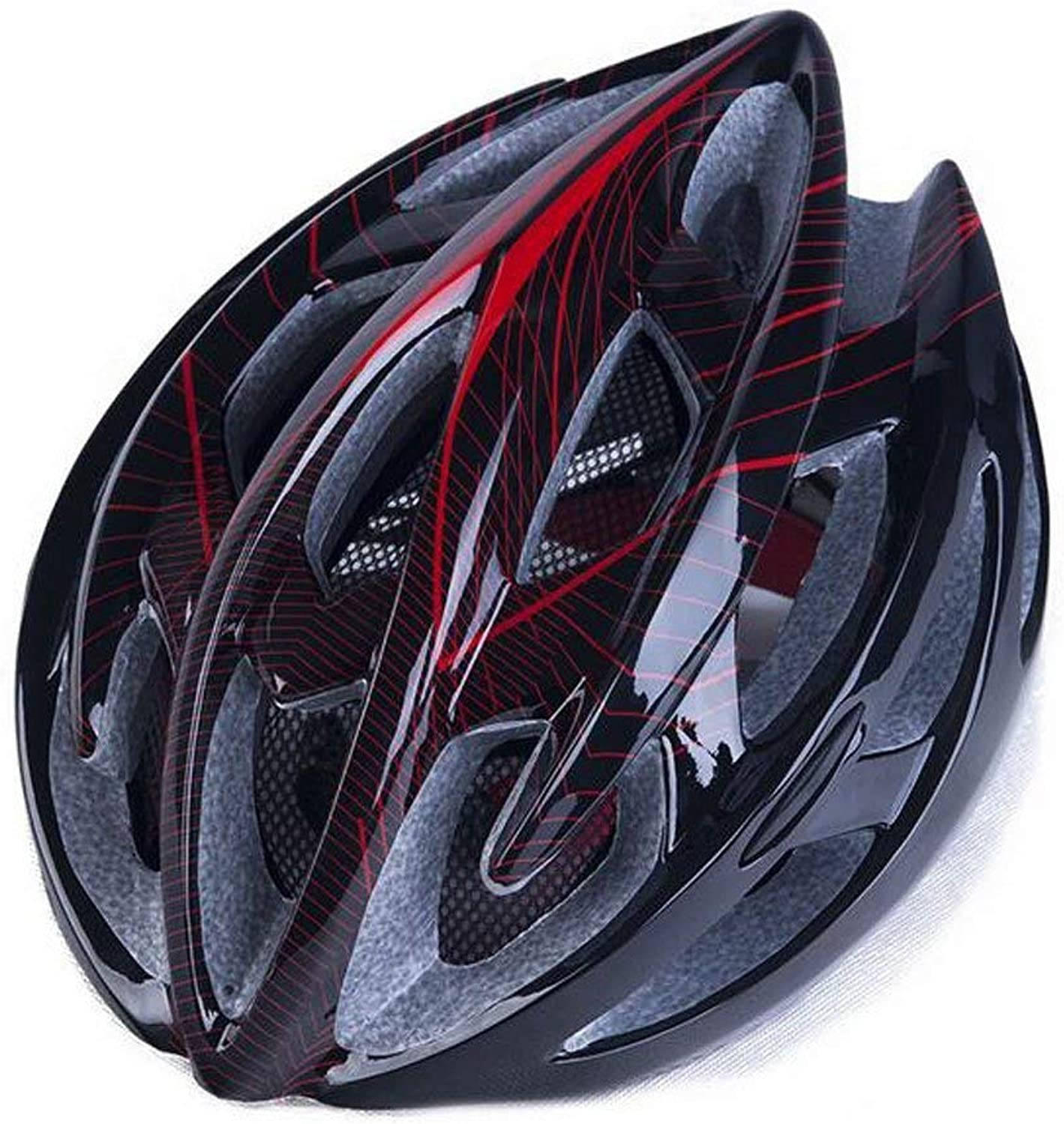 Oli Casque Helmet Outdoor Bicycle Helmet Eps Lightweight Comfortable Fashionable Ventilated Safety Four Seasons Helmet Neutral Suitable for Head Circumference(5763Cm)