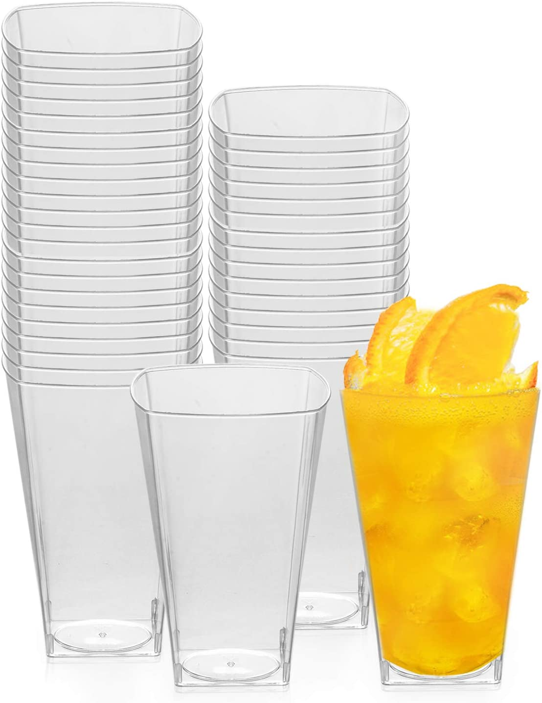 Clear Plastic Cups Disposable Party Max 83% OFF 10oz Hard - 336 Outstanding