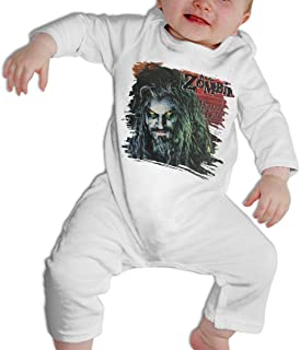 Infant Rob Zombie Adorable Music Band Long Sleeves Coveralls