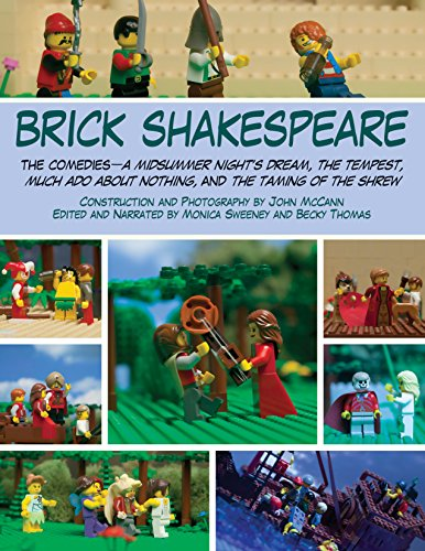 Brick Shakespeare - The Comedies: A Midsummer Night's Dream, The Tempest, Much Ado About Nothing, and The Taming of the Shrew