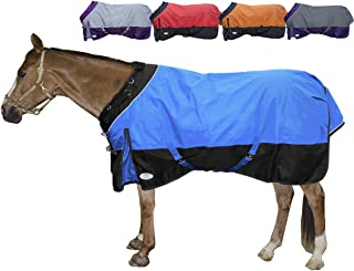 Derby Originals Windstorm Series Reflective Safety 1200D Ripstop Waterproof Nylon Horse Winter Turnout Blanket