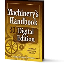 Machinery's Handbook Digital Edition, 31st. Edition: An Easy-Access Value-Added Package