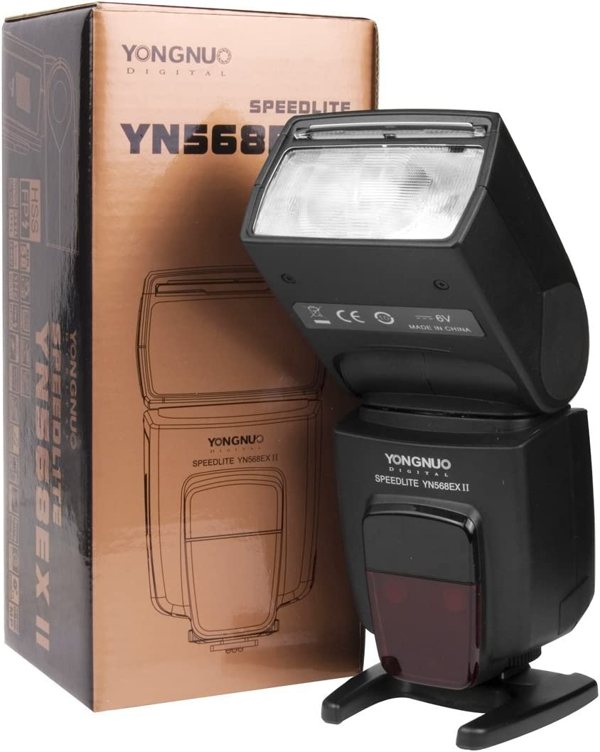 Yongnuo Yn 568ex Ii Blitzgerät Für Canon Eos Kamera Mit Kamera