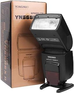 Yongnuo YN-568EX II - Flash con Brazo para Speedlite Canon 5D 7D 60D 50D LF246 Negro