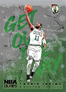 2018-19 Panini NBA Hoops Get Out The Way Winter/Holiday/Christmas #11 Kyrie Irving Boston Celtics Official Basketball Card