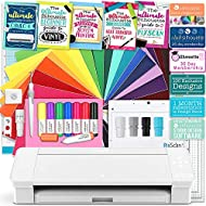 Silhouette White Cameo 4 Starter Educational Bundle with Oracal Vinyl, Transfer Sheets, Class, Full Color Guides, Pixscan Mat, and More