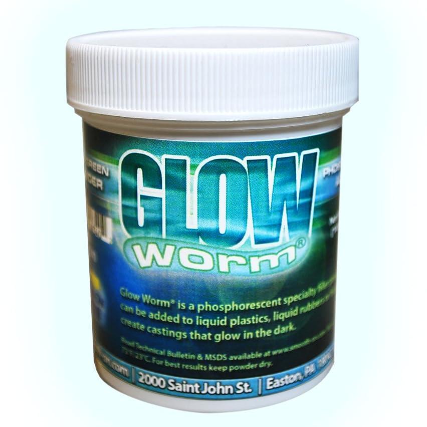 Glow Worm Blue/Green Glow-In-The-Dark Powder - 6 oz.