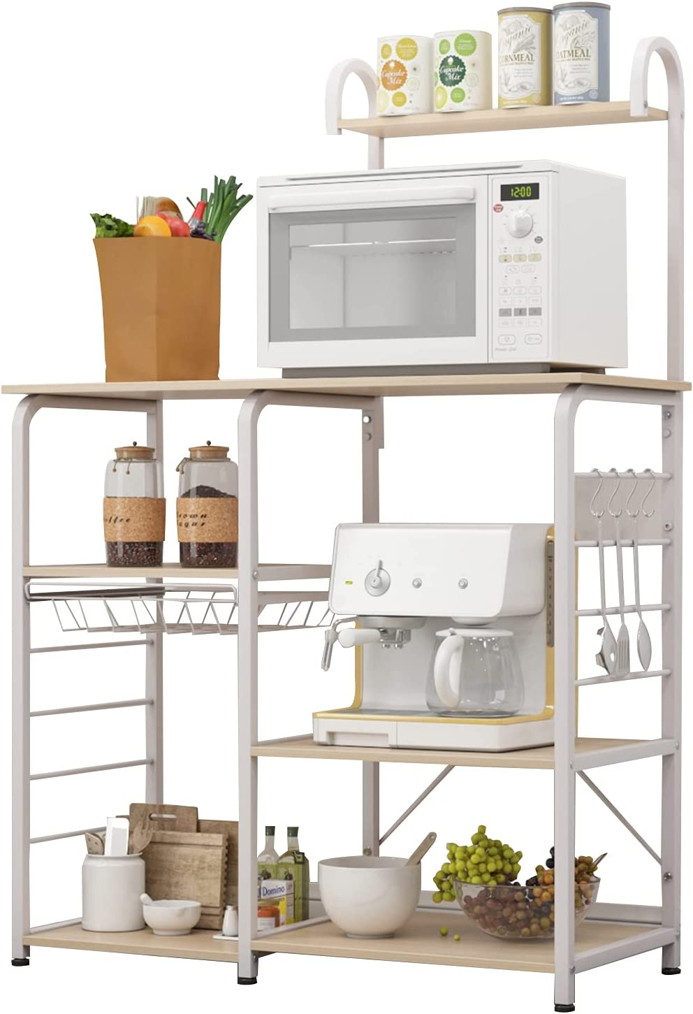 Soges Large-scale sale Multi-Functional Kitchen Baker's Rack Microwave Recommendation Oven Stand