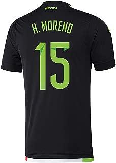 H. Moreno #15 Mexico Home Soccer Jersey 2015