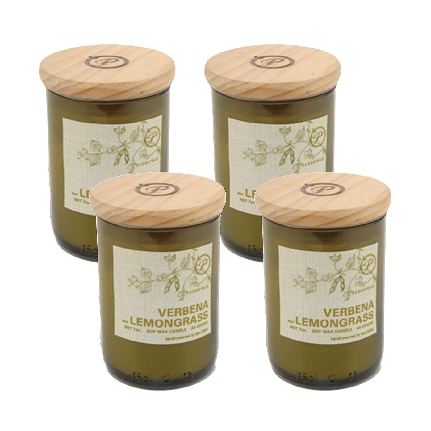 失態ユダヤ人息切れPaddywax EcoグリーンリサイクルガラスCandle、Verbena &レモングラス