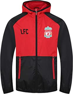 0854aa7047c5 Liverpool FC Official Football Gift Boys Shower Jacket Windbreaker