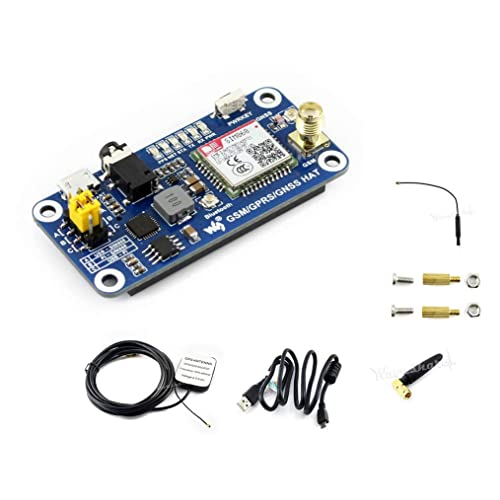 53b6474eb12 Raspberry Pi GSM GPRS GNSS Bluetooth HAT Expansion Board GPS Module SIM868  Compatible With