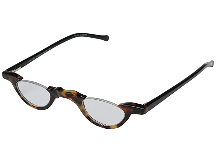 Topless Readers Tortoise/Black