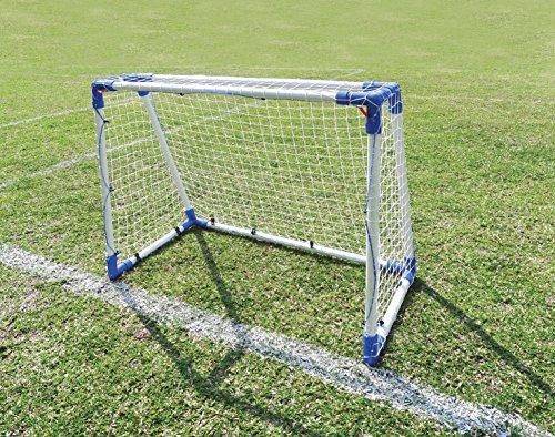 Outdoor Play | Fußball & Street Hockey Tor aus Stahlrohr für Garten, Straße und Schulhof - 110 x 90 cm