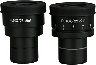Pair of Extreme Widefield 10X Eyepieces (1 Focusable) (30mm)