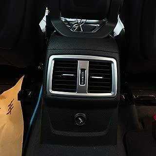 in vero carbonio 1 pezzo accessori per auto per Benz GLA CLA Class W176 A180 X156 C117 2013-2018 Yiwang anello decorativo per interruttore dell/'aria condizionata auto