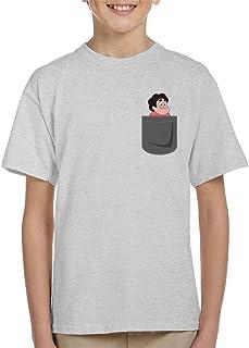 Cloud City 7 Steven Universe Pocket Print Kid's T-Shirt