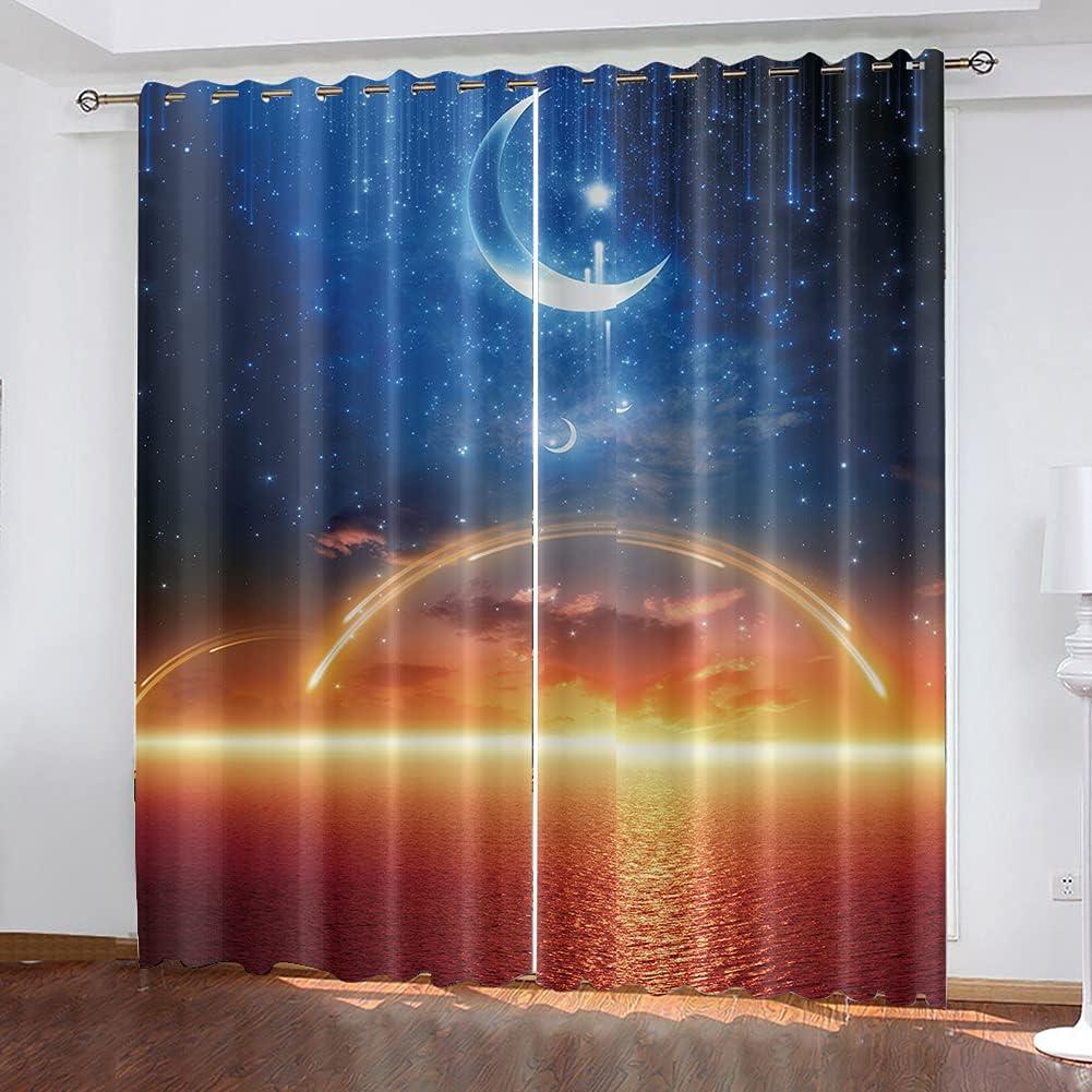 Zyhappk Summer Blackout Darkening Window Therm quality assurance Adult Curtain Kid Popular brand