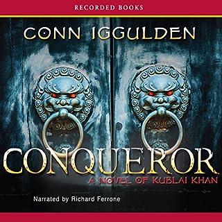 Conqueror audiobook cover art