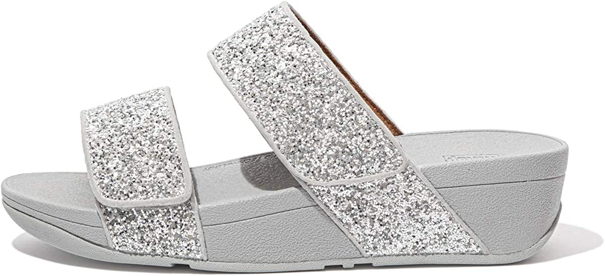 FitFlop Women's Mina Glitter Sandal Slides Limited time cheap sale Ranking TOP16 Mix