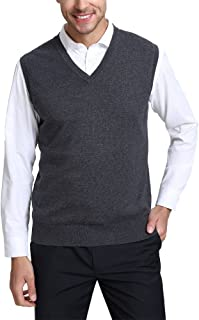 Best grey sweater vest mens Reviews