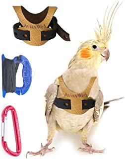 Avianweb EZ Bird Harness with Leash