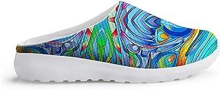 Sandalias con diseño Especial de Zuecos Unisex para Adultos Slip On Zapatillas de Estar por casa para el Tiempo Libre Sand...
