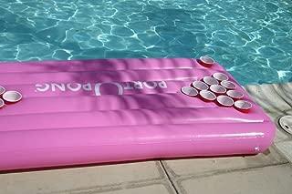 Port-o-Pong Portable Inflatable Beer Pong Table and Pool Pong Table (Pink)