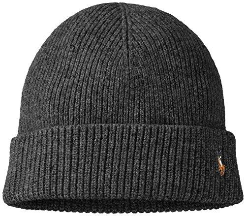 Ralph Lauren Polo Men's Merino Wool Watch Beanie Cap-WG-One Size