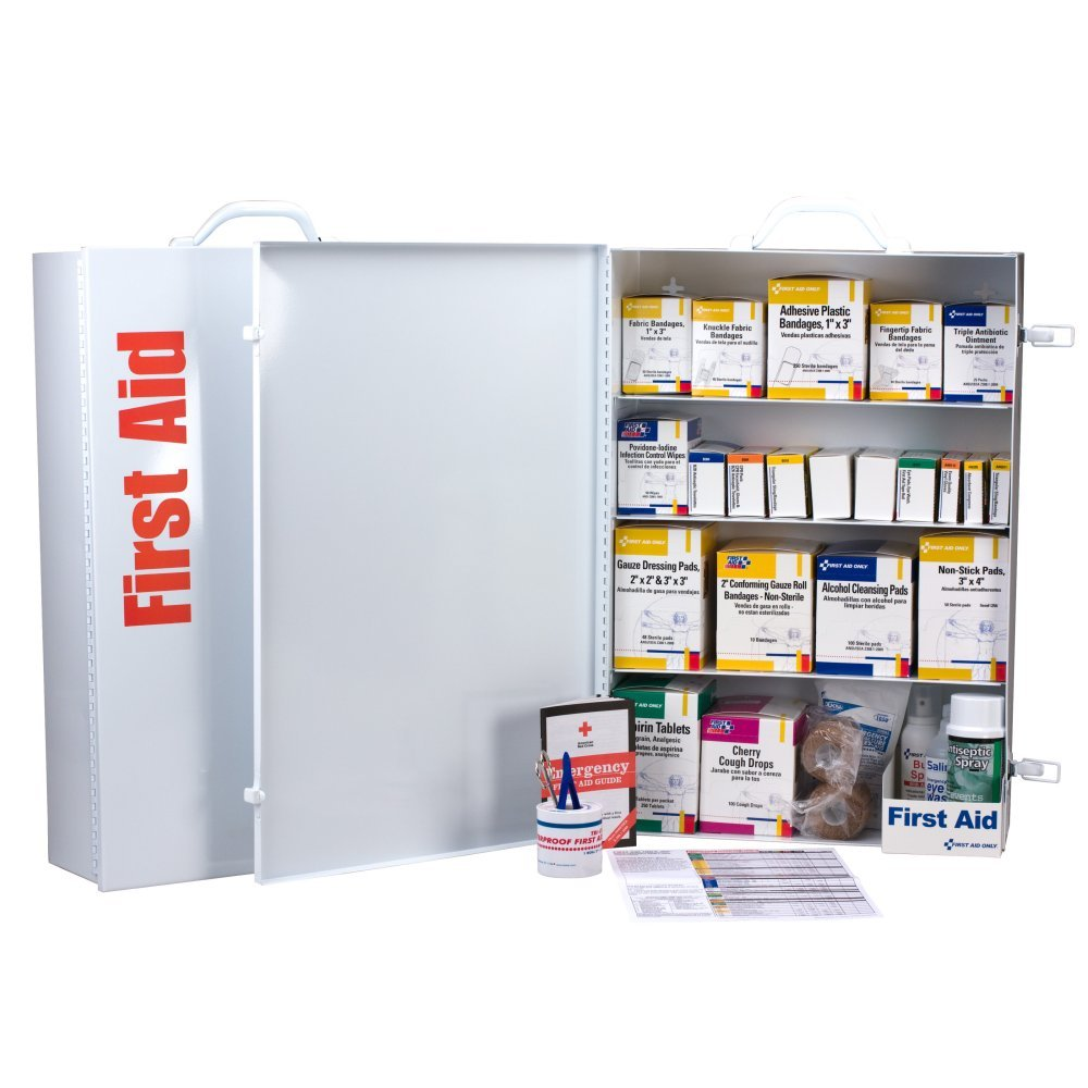 Our shop OFFers the best service First Aid Only 4 Shelf 19.5 Popularity Pound Industrial Station
