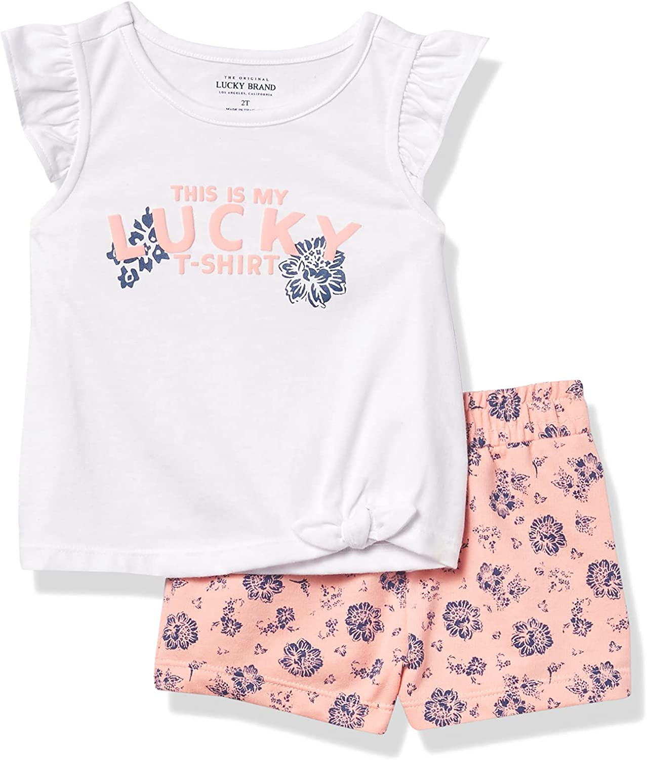 Lucky Brand baby-girls 2 Pieces Shorts Set