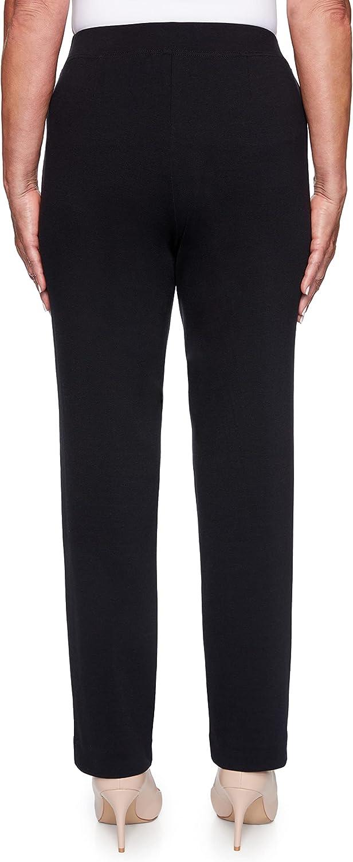 Alfred Dunner Women's Sateen Short Length Pant