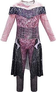 QYS Party City Audrey Halloween-Kostüm für Mädchen, Nachkommen 3, inklusive Zubehör,150cm