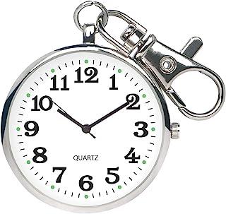 مینیمالیستی ساعت مچی کم چهره کوارتز با جیب باز با ساعت قابل حمل Unisex Unisex