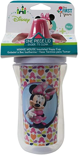 Web oficial First Years Minnie Mouse Mouse Mouse Insulated Sippy Cup by The First Years  orden ahora disfrutar de gran descuento