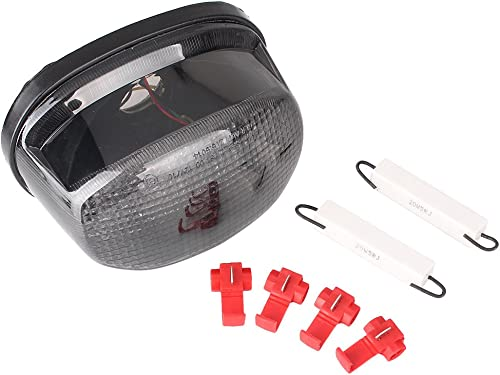 high quality Mallofusa Motorcycle Integrated Taillight LED Brake Tail new arrival Light Compatible for Suzuki Boulevard M50 2005-2008/ Marauder 800 1600 new arrival 1997 1998 1999 2000 2001 2002 2003 2004 Smoke Lens sale