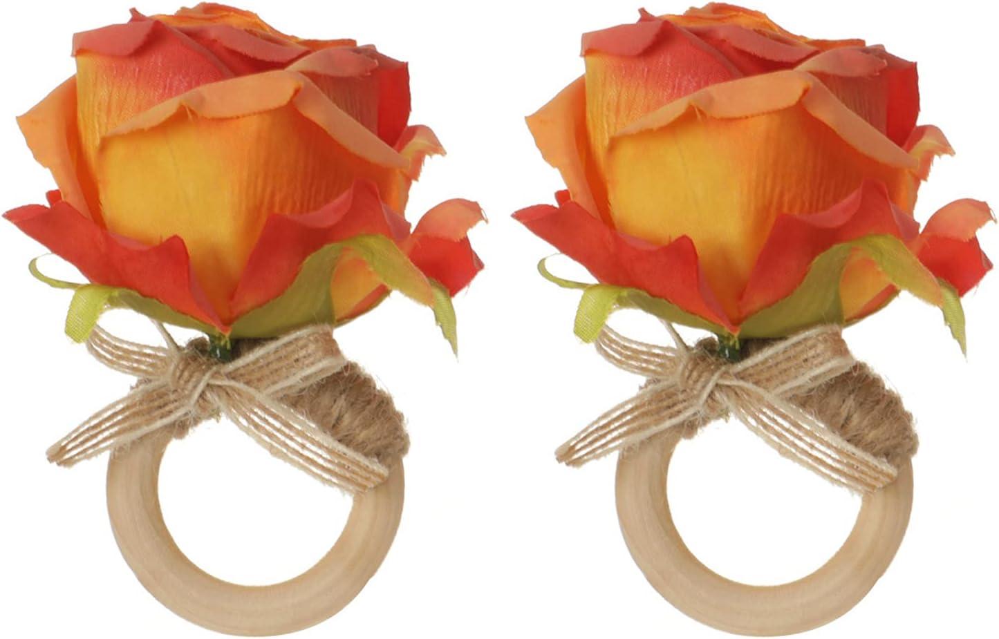 SANWOOD Napkin Buckles Serviette New York depot Mall Decoration Rings Holders