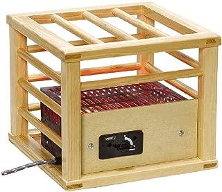 [山善] 一人用 こたつ コンパクトタイプ 速暖 (コルチェヒーター) (温度調節機能付き) (中間入切スイッチ) YH-M104Q ナチュラル [メーカー保証1年]
