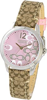 Womens 14501621 Classic Signature Strap Pink Dial Watch