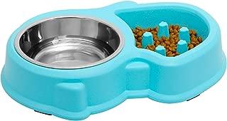 Upsky Slow Feeder Dog Bowl Fun Feeder No Chocking Slow Feeder Bloat Stop Dog Cat Food Water Bowl