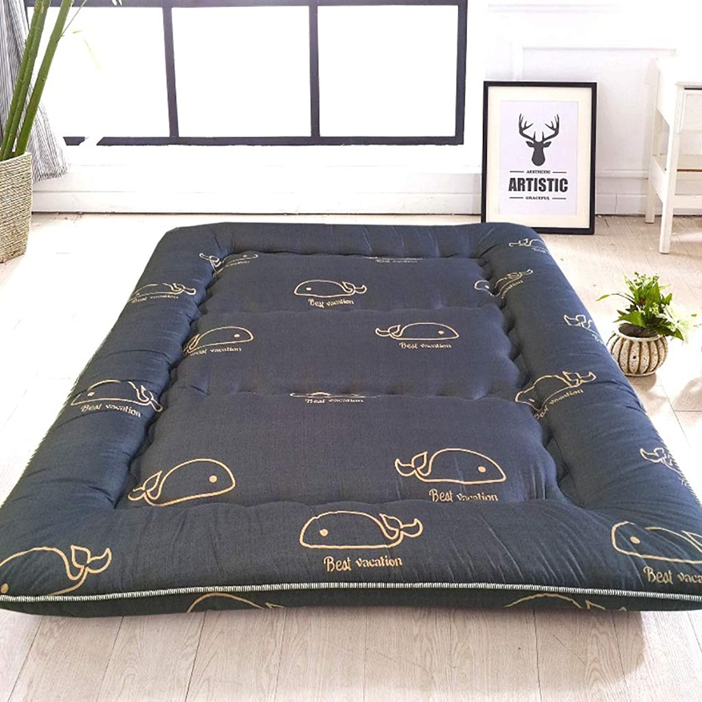 Soft Mattress Sleeping Tatami Floor Mat Foldable Futon Tatami Mattress Soft Thick Japanese Student Dormitory Mattress Pad (color   N, Size   0.9X2M Bed)