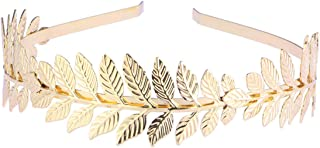 BESPORTBLE 1 pc Hairband Leaf Branch Dainty Hair Accessories Bridal Hair Crown Headband Head Dress
