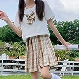 HSPHFX Outfit Sailor Suit Girls Jk Uniformes Estudiante Blus