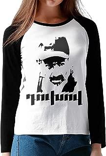 Women's Nikol Pashinyan Duxov Long Sleeve Baseball T-Shirts Black