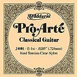 D'Addario J4601 - Cuerda para guitarra clásica de nylon, 1ª cuerda en Mi.072