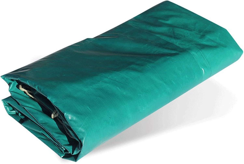 Tarpaulin FireRetardant Fabric FireRetardant Fabric Tarpaulin Thick FireExtinguishing Cloth ThreeProof Cloth Sunshade Tarpaulin Rainproof Cloth Green(250g m2) (Size   5  7m)