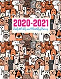 2020-2021 Daily Weekly and Monthly Planner: Pretty Two Year Jan 1, 2020 - Dec 31, 2021 Calendar Organizer and Appointment Schedule Agenda Journal for ... - 24 Months Planner - Creative AG 0005