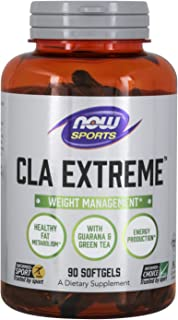 NOW Sports Nutrition, CLA Extreme (Conjugated Linoleic Acid) With Guarana & Green Tea, 90 Softgels