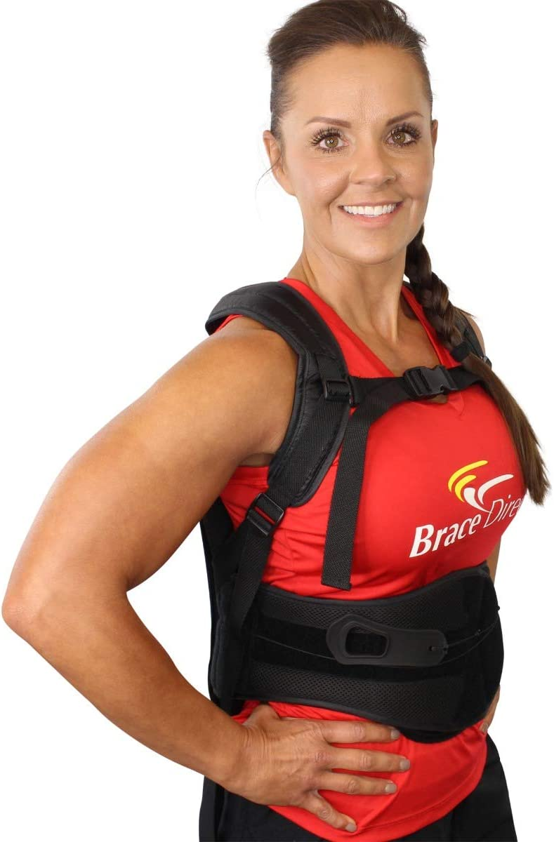 Now free shipping Rigid Posture Corrector Back Straight Adjustable Outstanding Brace with